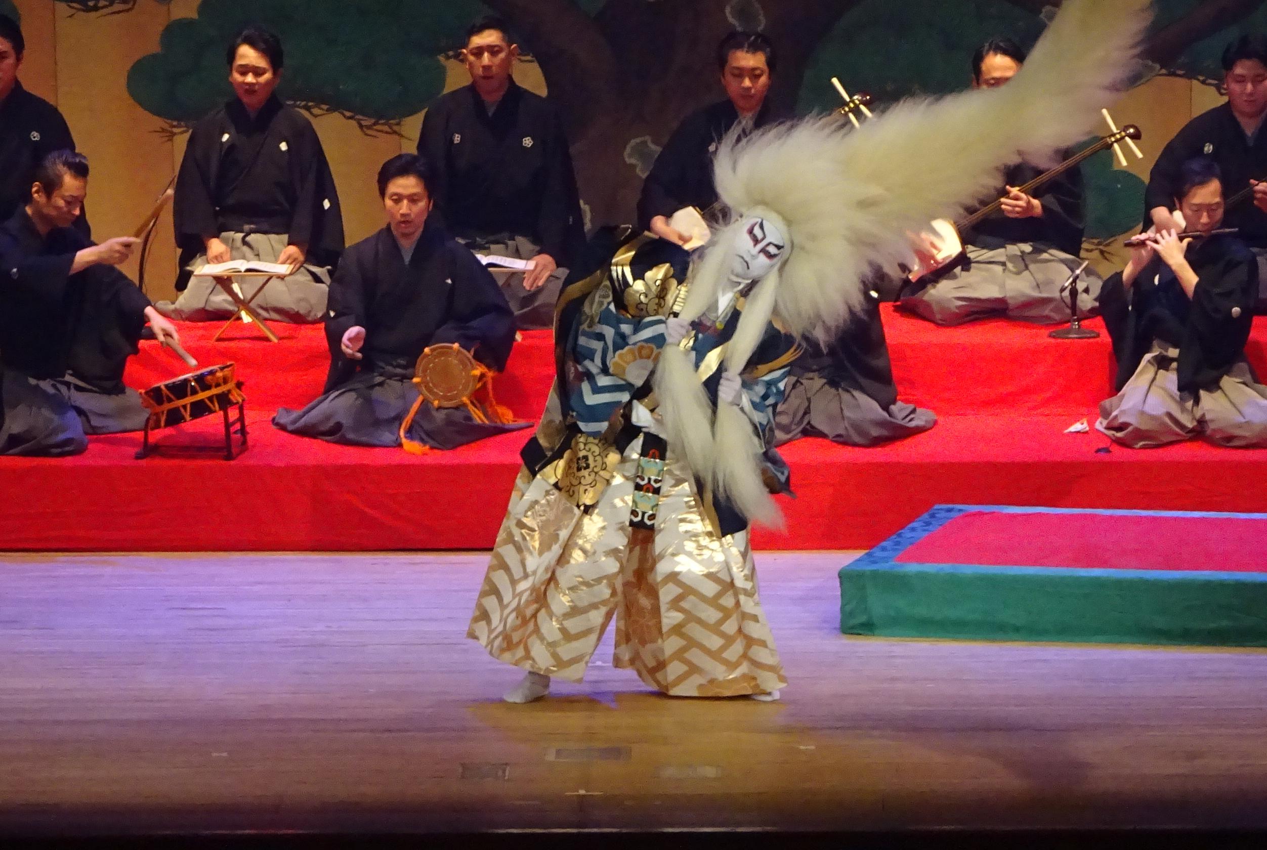 南野陽子&葛西聖司「伝統芸能の魅力発見!」より